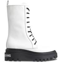 kengät Naiset Bootsit Calvin Klein Jeans YW0YW00390 Valkoinen