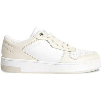 kengät Naiset Matalavartiset tennarit Calvin Klein Jeans YW0YW00448 Beige
