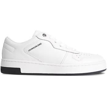 kengät Naiset Matalavartiset tennarit Calvin Klein Jeans YW0YW00448 Valkoinen