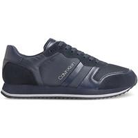 kengät Miehet Matalavartiset tennarit Calvin Klein Jeans HM0HM00315 Sininen
