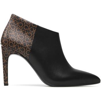 kengät Naiset Nilkkurit Calvin Klein Jeans HW0HW00520 Musta