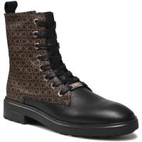 kengät Naiset Bootsit Calvin Klein Jeans HW0HW00561 Musta