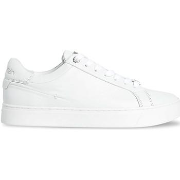 kengät Naiset Matalavartiset tennarit Calvin Klein Jeans HW0HW00570 Valkoinen