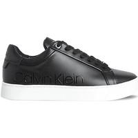 kengät Naiset Matalavartiset tennarit Calvin Klein Jeans HW0HW00574 Musta