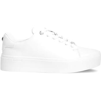 kengät Naiset Matalavartiset tennarit Calvin Klein Jeans HW0HW00575 Valkoinen