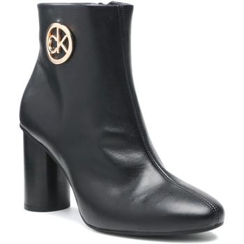 kengät Naiset Nilkkurit Calvin Klein Jeans HW0HW00592 Musta