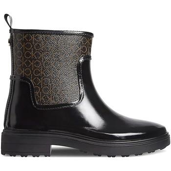 kengät Naiset Kumisaappaat Calvin Klein Jeans HW0HW00609 Musta