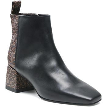 kengät Naiset Nilkkurit Calvin Klein Jeans HW0HW00612 Musta