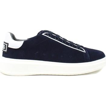 kengät Lapset Matalavartiset tennarit 4us 4U-002A Sininen