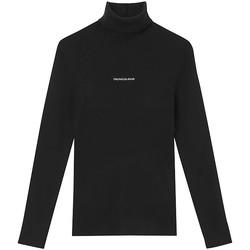 vaatteet Naiset Neulepusero Calvin Klein Jeans J20J216606 Musta