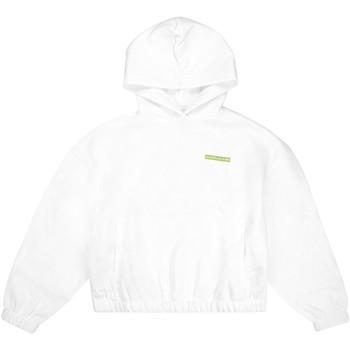 vaatteet Naiset Svetari Calvin Klein Jeans J20J217292 Valkoinen