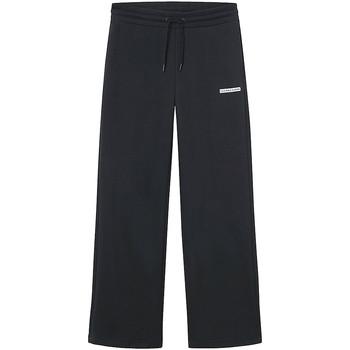 vaatteet Naiset Väljät housut / Haaremihousut Calvin Klein Jeans J20J217293 Musta