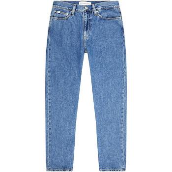 vaatteet Naiset Suorat farkut Calvin Klein Jeans J20J217544 Sininen