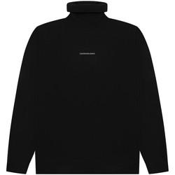 vaatteet Miehet Neulepusero Calvin Klein Jeans J30J318612 Musta