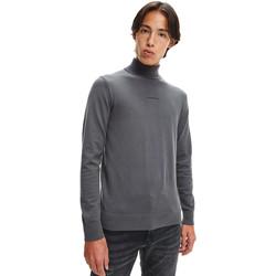 vaatteet Miehet Neulepusero Calvin Klein Jeans J30J318612 Harmaa