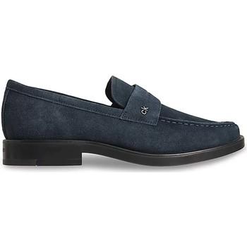 kengät Miehet Mokkasiinit Calvin Klein Jeans HM0HM00306 Sininen