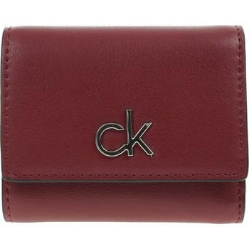 laukut Naiset Lompakot Calvin Klein Jeans RE Lock Trifold Punainen