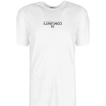 vaatteet Miehet Lyhythihainen t-paita Les Hommes  Musta