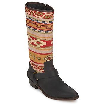 kengät Naiset Saappaat Sancho Boots CROSTA TIBUR GAVA Ruskea-punainen