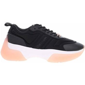 kengät Naiset Matalavartiset tennarit Calvin Klein Jeans HW0HW006390GM Mustat