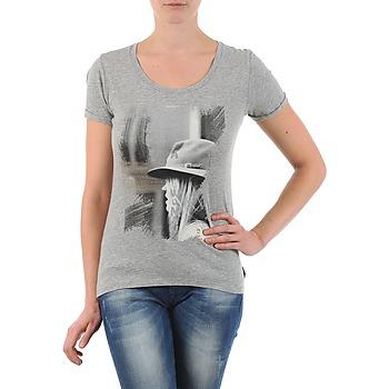 vaatteet Naiset Lyhythihainen t-paita School Rag TORI Grey