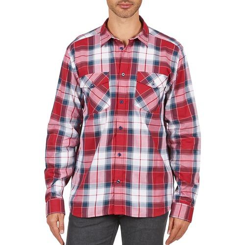 vaatteet Miehet Pitkähihainen paitapusero Wesc JOEY Red