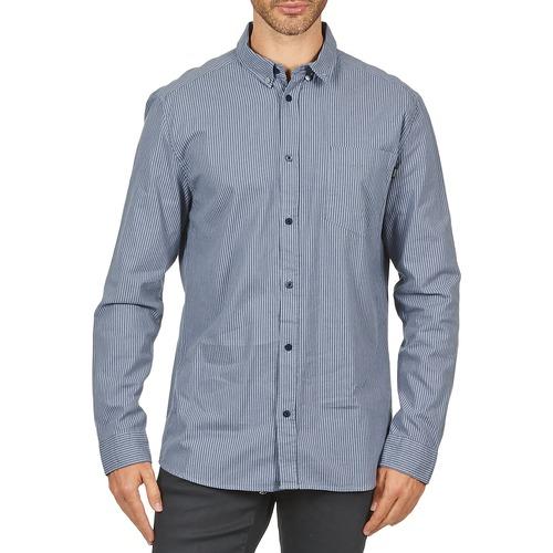vaatteet Miehet Pitkähihainen paitapusero Wesc YANIK Blue