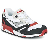 kengät Matalavartiset tennarit Diadora N9000  NYL White / Black / Red