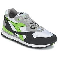 kengät Matalavartiset tennarit Diadora N-92 Valkoinen / Musta / Vihreä