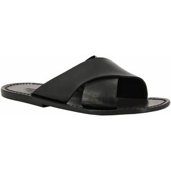 kengät Naiset Sandaalit Gianluca - L'artigiano Del Cuoio 560 U NERO CUOIO nero