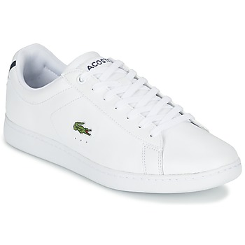 kengät Miehet Matalavartiset tennarit Lacoste CARNABY EVO LCR White
