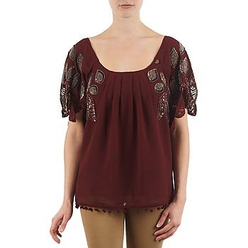 vaatteet Naiset Lyhythihainen t-paita Lollipops POCAHONTAS TOP Bordeaux