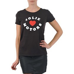 vaatteet Naiset Lyhythihainen t-paita Kulte LOUISA JOLIEMOTOR 101954 NOIR Black