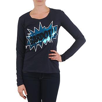 vaatteet Naiset T-paidat pitkillä hihoilla Brigitte Bardot BB43130 Blue