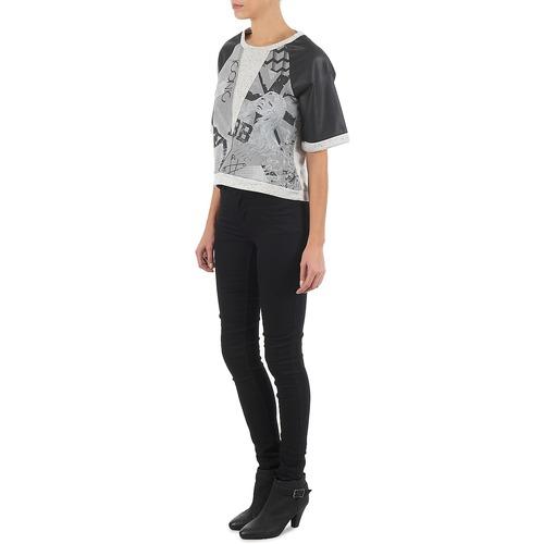 Brigitte Bardot Bb43025 Grey - Ilmainen Toimitus- Vaatteet Svetari Naiset 79