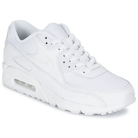 kengät Miehet Matalavartiset tennarit Nike AIR MAX 90 ESSENTIAL White