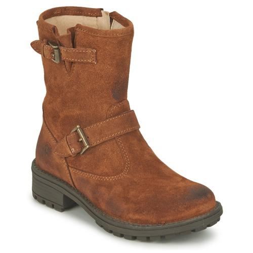 kengät Tytöt Bootsit Naturino  Kivi / kahvi