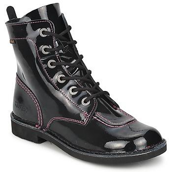kengät Tytöt Bootsit Kickers KICK MOOD Musta