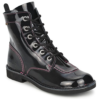 kengät Tytöt Bootsit Kickers KICK MOOD Black