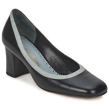 kengät Naiset Korkokengät Sarah Chofakian SHOE HAT Black / Harmaa / Blue / Clair