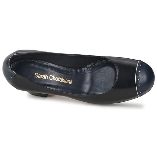 Sarah Chofakian Dress Black / Laivastonsininen - Ilmainen Toimitus- Kengät Korkokengät Naiset 184