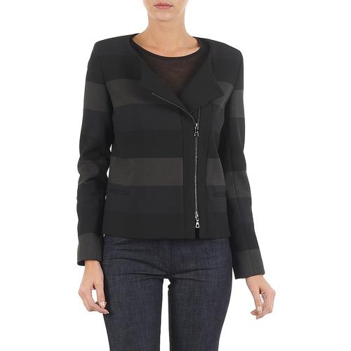 vaatteet Naiset Takit / Bleiserit Lola VIE DUP Black / Grey