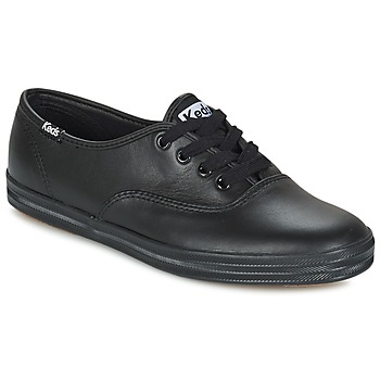 kengät Naiset Matalavartiset tennarit Keds CHAMPION LEATHER Black
