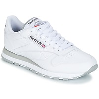 kengät Miehet Matalavartiset tennarit Reebok Classic CL LEATHER White