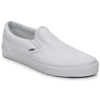 kengät Tennarit Vans CLASSIC SLIP ON Valkoinen