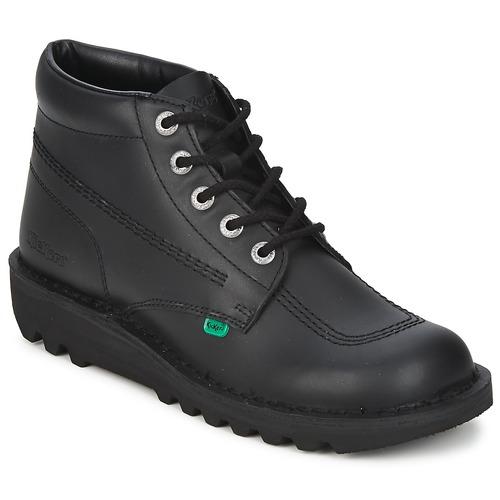 kengät Miehet Bootsit Kickers KICK HI Black