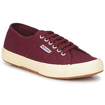 kengät Matalavartiset tennarit Superga 2750 COTU CLASSIC Pimeä / Bordeaux
