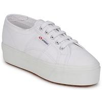 kengät Naiset Tossut Superga 2790 LINEA Valkoinen