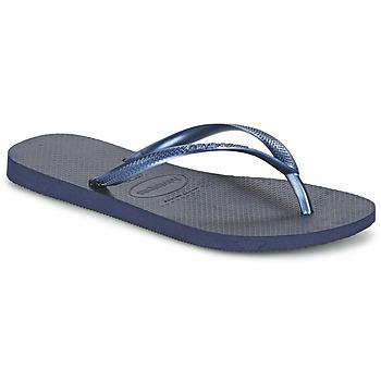 kengät Naiset Varvassandaalit Havaianas SLIM Laivastonsininen