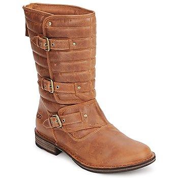 kengät Naiset Saappaat UGG TATUM Chestnut